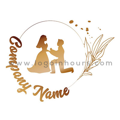 wedding logo design in houston by professional logo designers