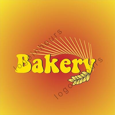 bakery logo with corn icon by professional bakery logo designer in houston