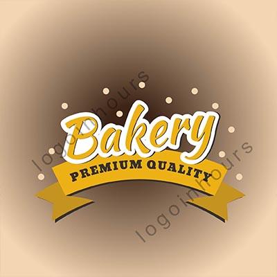 typography bakery logo design by best bakery logo designer in houston